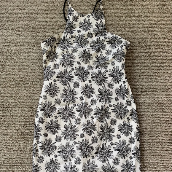 Lucca Couture Dresses & Skirts - Lucca black floral dress size small NWOT